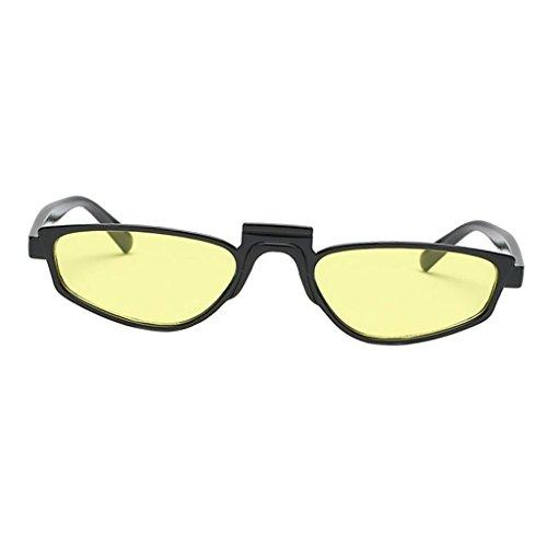 Sharplace Damen Sonnenbrille - Schwarzes Rahmen-Gelb-Objektiv
