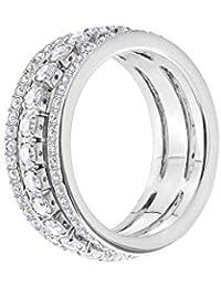 d76e6648c Swarovski Crystal Timeless Further Rhodium Ring 5448892