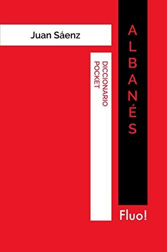 Diccionario Pocket Albanés por Juan Sáenz