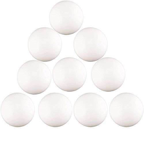 kaptin 150pcs 40mm plástico Pelotas de Pong de Cerveza, pelota de tenis de mesa, color blanco