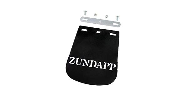Zündapp Schmutzfänger schwarz Spritzschutz beschriftet inkl Befestigung
