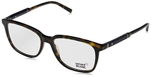 Montblanc Herren Optical Frame Mb0620 052 55 Brillengestelle, Braun,