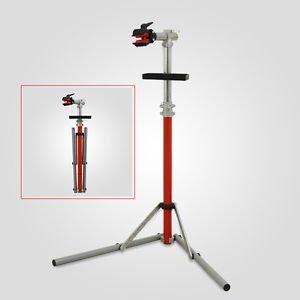 Cavalletto per manutenzione bicicletta professionale pieghevole e regolabile