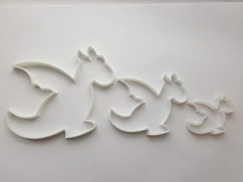 Stampo per biscotti a forma di drago (rettile mitico a forma di animale) -...
