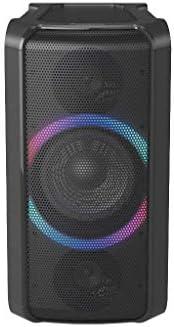Panasonic SC-TMAX5 Bärbar Party högtalare med Bluetooth (Trådlös laddning, Ljuseffekter, Powerbankdriven, 150