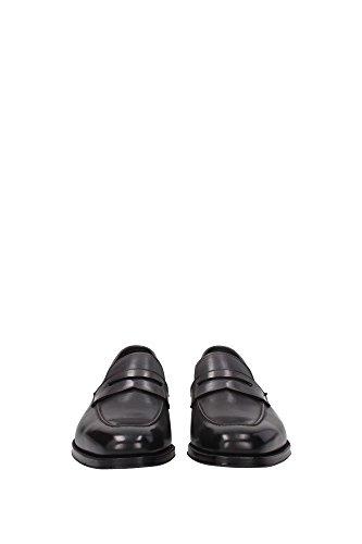 J0999GBETGRC Tom Ford Loafers Herren Leder Grau Grau