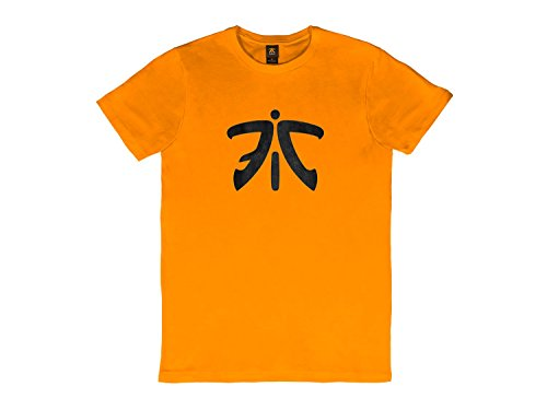 Fnatic ESS Logo Tee, Orange, XL (Ess Tee Logo)