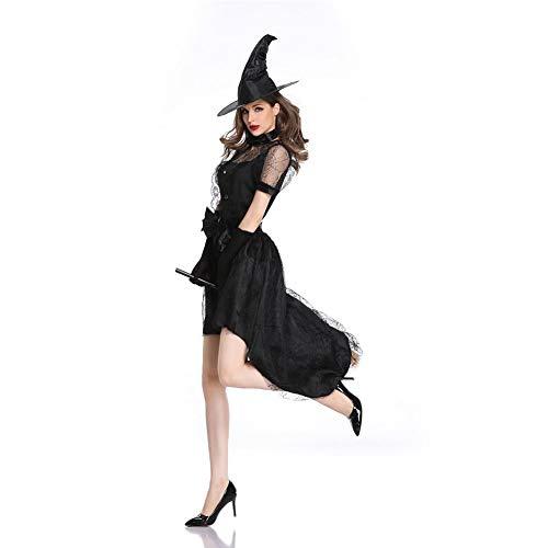 MEMIND Halloween Cosplay Kleidung Erwachsene Frau Hexe Spiel Anzug Sexy Hexe Hexe Bühne Kostüme Thema Party Party Prom - Prom Themen Kostüm Party