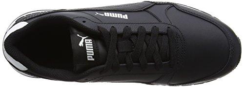 Puma Unisex-erwachsene St Runner V2 Full L Sneaker Schwarz (puma Nero-puma Nero)
