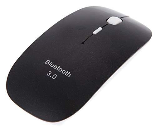 Yowablo Drahtlose Maus 4 Tasten 1600 DPI drahtlose Bluetooth-Maus für PC Laptop (Schwarz)