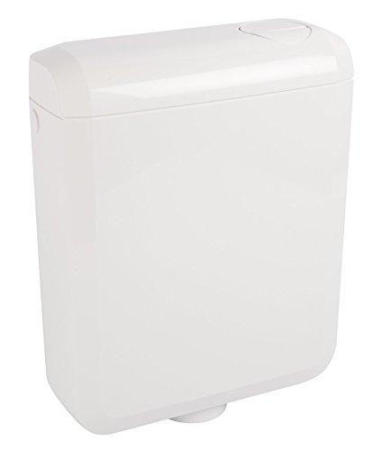 Spülkasten Super 6 | Kunststoff | 2 Mengen Spültechnik | 3 - 6 Liter oder 3,5 - 7 Liter | Tiefspülkasten | WC, Toilette | Weiß