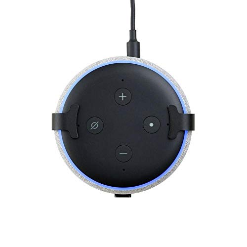 Lautsprecher-Halterungs-Standplatzhalter Für Amazon Echo Dot 3, Steckdose-Wandhalterungs-Halter-Aufhänger-Regal-Zubehör, Lösung Für Intelligente Hauptlautsprecher, Wandmontierter Halter Für Badezimmer