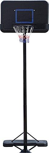 IUNNDS - Canasta de baloncesto con soporte y tablero, altura ajustable, para uso en el hogar