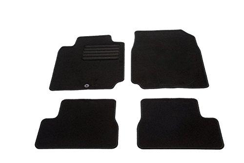 Preisvergleich Produktbild Auto Fußmatten Velours Set 4-teilig passgenau, schwarz