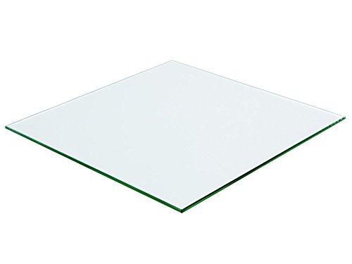 VS Electronic 840569 Glaspanel für 3D-Drucker, 215 mm x 215 mm x 3 mm