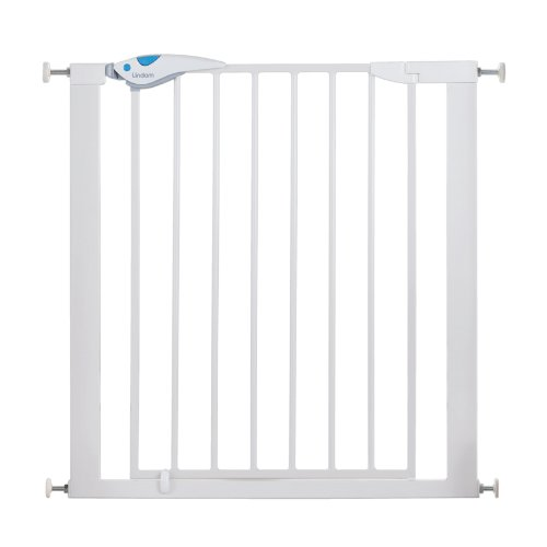 Lindam 051298 Easy Fit Plus Deluxe Pressure Fit Safety Gate – 76-82 cm, White