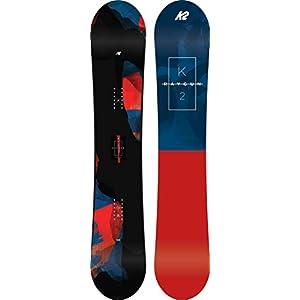 K2 Herren Raygun Snowboard Rot-Blau-Schwarz Design 2018 11C0020.1.1.