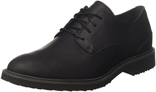 Timberland Brook Park Light, Scarpe Stringate Oxford Uomo, Nero (Black Mincio 001), 42 EU