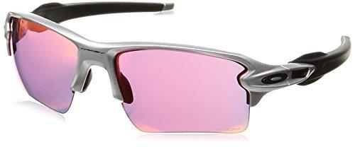 Oakley Herren Flak 2.0 Xl 918883 59 Sonnenbrille, Silber (Silver/Prizmfield),