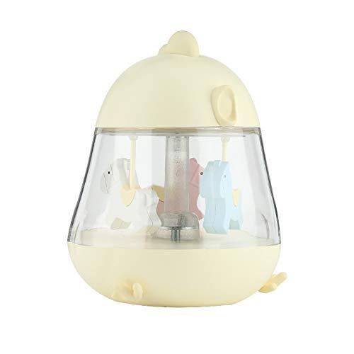 inder Sterne Nachtlicht Projektor Lampe 7 Farbkombinationen Musik Player Romantische Dekoration Lampe,Yellow ()