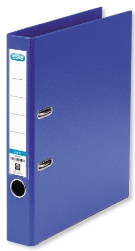 ELBA 100202094 Kunststoff-Ordner smart Pro+ 10er Pack 5 cm schmal DIN A4 blau mit Einsteckrückenschild