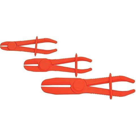 KS Tools 115.5050 - Pack de 3 piezas con alicates para soltar tuberías flexibles