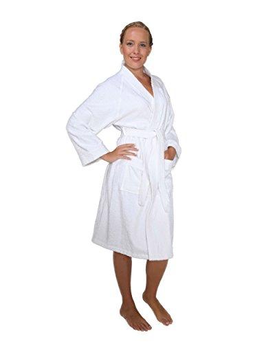 Arus - Archee Peignoir, Couleur : blanc, Taille: S/M