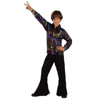 Chemise disco garçon - 10 à 12 ans
