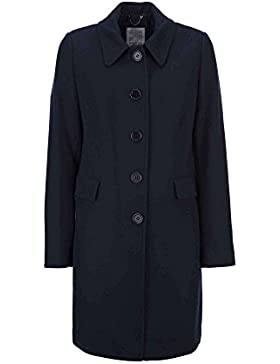 Geox W7415B T2434 Cappotto Donna Blu 52