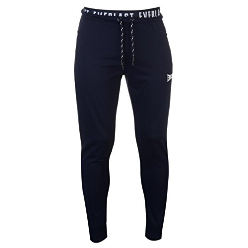 Everlast Uomo Jacquard Jog Pantaloni Azzurro