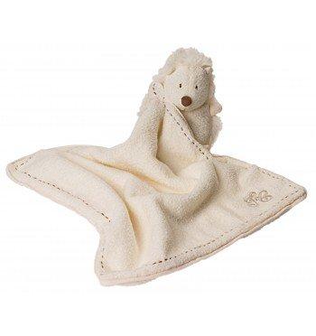 Doudou Hérisson blanc ivoire Tartine et