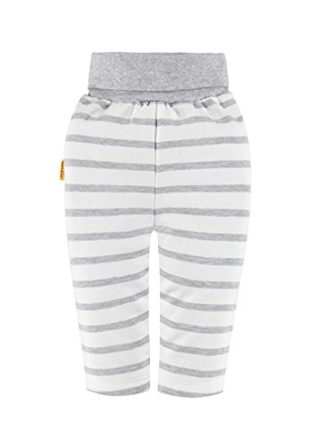 Steiff Collection Unisex Hose Jogginghose, Gr. 56, Grau (Softgrey melange 8200)