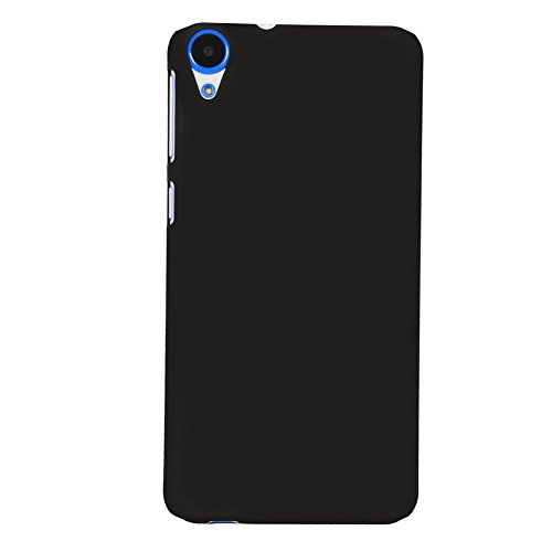 SDO(TM) Classy Matte Finish Rubberised Design Slim Hard Back Case Cover for HTC Desire 820 Dual Sim - Black