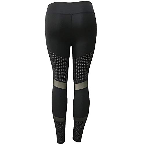UFACE Pantalon de Fitness Femme modernebouffant Logo Style Baggy Loisirs latérale Noir Hip Push-up Cheville Basique Stretch Pantalons de Sport Femme Pantalon Femme Sport Yoga Jogging Taille avec