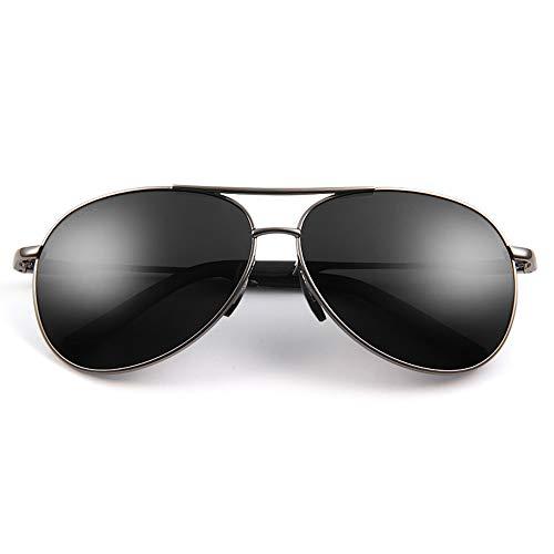 Xiao Jian- Grad Myopie Sonnenbrillen Herren Sonnenbrillen Gezeiten Polarisierte Frosch Spiegel Benutzerdefinierte Fahrer Fahren Gläser Sonnenbrille (Farbe : A, größe : 500)
