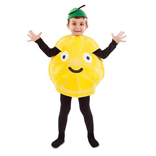 Kostüm Obst Kinder - EUROCARNAVALES Kinder Kostüm Früchtchen 3-4 Jahre Frucht-Verkleidung Obst (Zitrone)