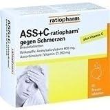 ASS+C-ratiopharm gegen Schmerzen 20 stk