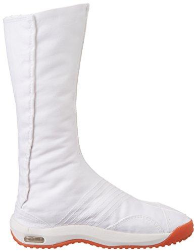 Jikatabi Schuhe mit Luftkissen (Air Jog) 12 Clips - Direkt aus Japan (Marugo) Weiß