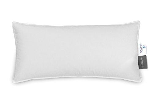 Traumnacht Basis Federkissen, mit Baumwollbezug, medium, 40 x 80 cm