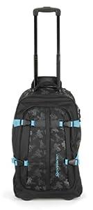 Urban Beach Drifter Wheelie Travel Bag with Handle - Black