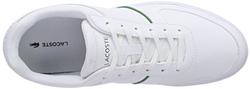 Lacoste  GRIPTON 116 1 SPM, Sneakers Basses homme Blanc - Weiß (WHITE 001)