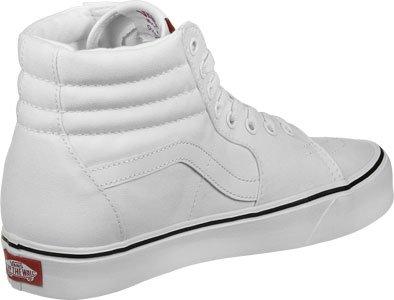 Vans Unisex-Erwachsene Ua Sk8-Hi Lite Hohe Sneakers, (Canvas) Black/Black (canvas) True White