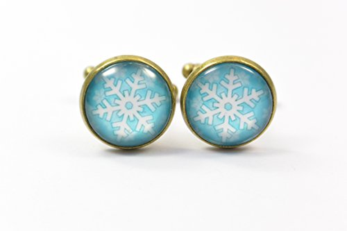 manschettenknopfe-accessoires-eiskristall-schneeflocke-winter-schnee-weiss-blau-manner-mann-glas-anl