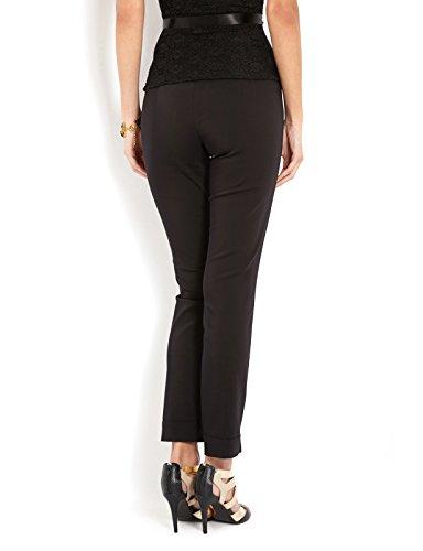 Morgan - 132-Pasong.P, Pantalone da donna, nero(black - black), taglia produttore: 36