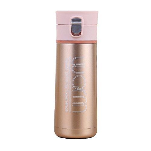 Doppelwandige Vakuum-isolierte Reise-Becher Kaffeetasse, Edelstahl-Flasche, Sport-Wasser-Flasche (Avent Flasche Thermo)