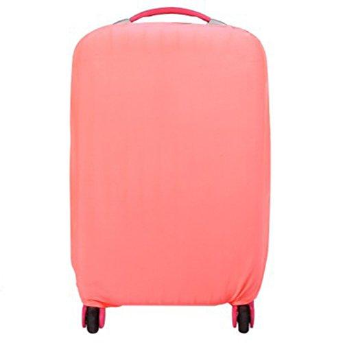 WINOMO Funda de Maleta Cubierta de Equipaje Viaje Elástico Protector a Prueba de Polvo para 22-24 Pulgadas (Rosa)