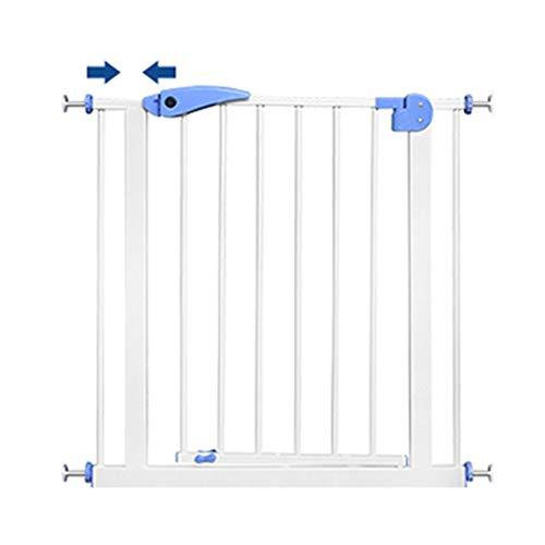 Bettgitter Wang Baby Isolation tür, Baby Sicherheit tür Zaun, treppen frei stanzen Zaun, Kinder Zaun geländer, 71-79 cm (Für Tür Zaun Kinder)