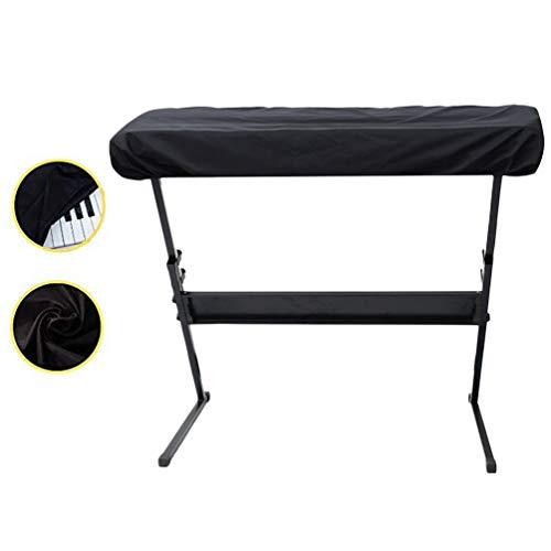 CANAVA E-Piano-Abdeckung für 61 Tasten Wasserdicht Staubdicht Waschbar Dehnbar Atmungsaktiv Musikinstrumentenabdeckung - Koffer Abdeckung Dehnbare