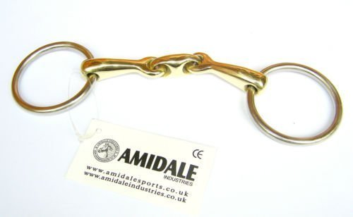 amidale-loose-ring-lozenge-fat-link-copper-mix-snaffle-bit-s-s-german-silver-550-inches