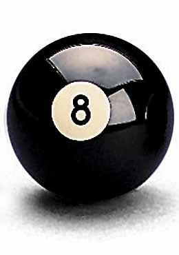 Schwarz Nr. 8 Ball 2